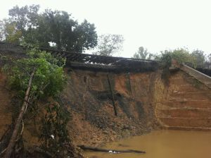 Train Track Washout